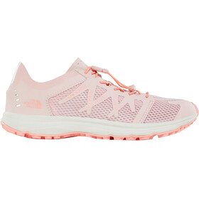The North Face W's Litewave Flow Lace Shoes Evening Sand Pink/Desert Flower Orange
